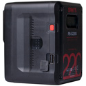 SWIT PB-S220S 220Wh V-Mount Li-Ion Battery with Multi D-Tap Out and USB Port
