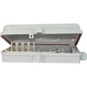 TechLogix TL-16P-DB-O Wall-Mount Fiber Distribution Box - 16 Port with Outdoor Rating (Requires Couplers)