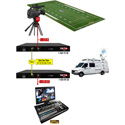 Thor F-1SDI-3G-TxRx-RM 1 SD/HD 3G-SDI Over Single Fiber CWDM Uncompressed Rack-Mountable