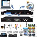 Thor Fiber H-4ADHD-ATSC-IPLL 4-Channel HDMI/YpPbr/Composite to ATSC Encoder Modulator with Low Latency & IPTV Streamer