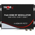 Thor H-HDMI-RF-PETIT Drop & Play Converter HDMI RF Modulator Sends 1080P Into an RF Channel