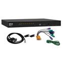 Tripp Lite B022-U08 NetDirector 8-Port 1U Rackmount KVM Switch