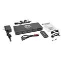 Tripp Lite B126-4X4 4x4 HDMI over Cat5/Cat6 Matrix Splitter Switch Transmitter for Video & Audio - Up to 175 Feet