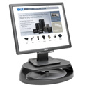 Tripp Lite MR1208TRAY Universal Monitor Riser with Accessory Tray