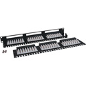 Tripp Lite N252-0248-1U 48-Port Cat6 Patch Panel High Density 110 Punch down 1URM TAA