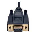 Tripp Lite P456-006 Null Modem Serial DB9 Serial Cable (DB9 to DB25 F/M) 6 Feet