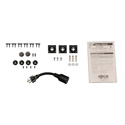 Tripp Lite PDUMV20-24 1.9kW Single-Phase Metered PDU 120V Outlets (6 5-15/20R) L5-20P/5-20P adapter 0U Vertical 24-Inch