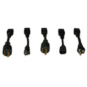 Tripplite PDUNV PDU Basic 100V - 240V 16A 1RU - C13 C19 Outlet PDU