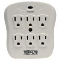 Tripp Lite SK6-0/SPIKEBLOK Surge Protector Wallmount Direct Plug In 120V 6 Outlet 540 Joule