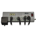 Tripp Lite TLP74TG Surge Protector Strip TL P74 RB 120V Right Angle 7 Outlet Black