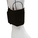 Viviana Straps VSABK-EX Extreme Ankle Wireless Transmitter Strap 4in x 15in Unstretched - Black