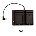 Viewz VZ-BM-CLP Canon Dual LP Series Battery Plate Kit for 7-Inch Monitors