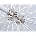 Westcott 4632 7ft White Diffusion Parabolic Umbrella
