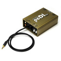 Whirlwind PCDIHW Direct Box Dual with RCA 1/4 Inch Inputs 1/8 Inch Hardwired Input Tail 30 Inch