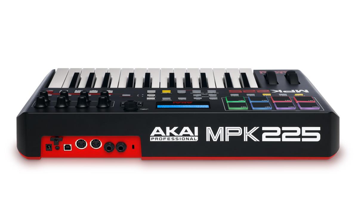 akai professional mpk 225 performance keyboard controller. Black Bedroom Furniture Sets. Home Design Ideas