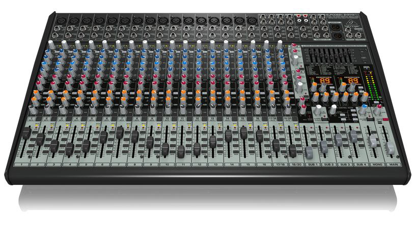 behringer eurodesk sx2442fx 24 channel analog mixer. Black Bedroom Furniture Sets. Home Design Ideas
