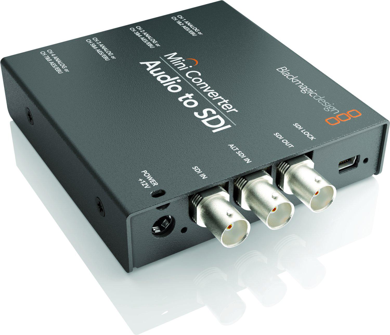 Blackmagic Convmcauds Audio To Sdi Mini Converter