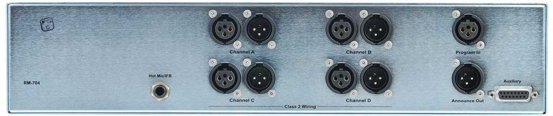 clear com rm 704 rack mount 4 channel headset speaker station rh markertek com CLEAR.com Wiring Clear Thomson Reuters