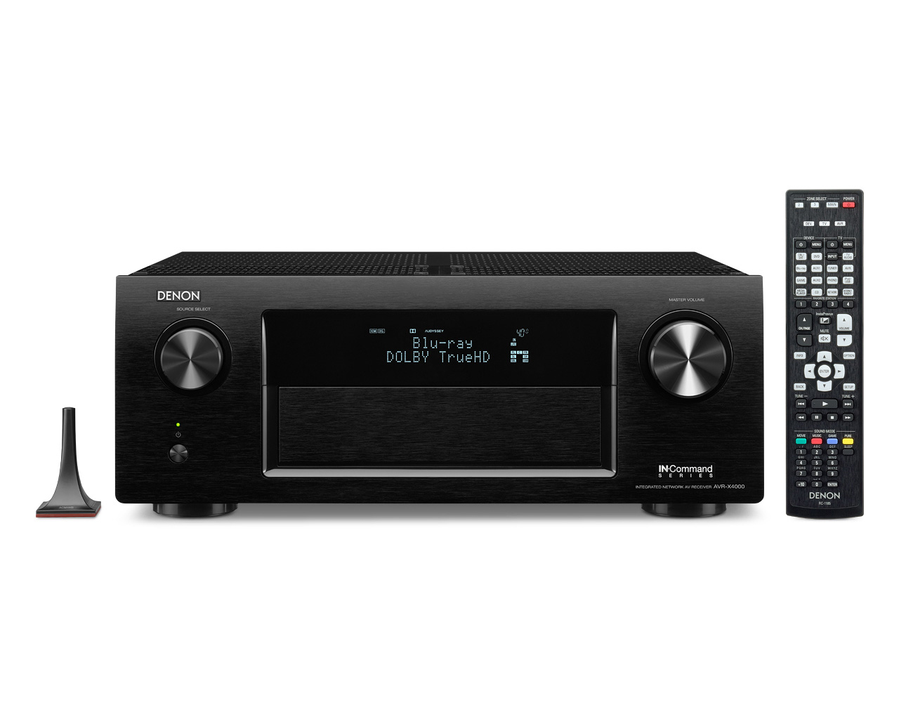 Denon avr x4000p 7 2 ch 4k ultra hd networking receiver w for Multi zone receiver yamaha