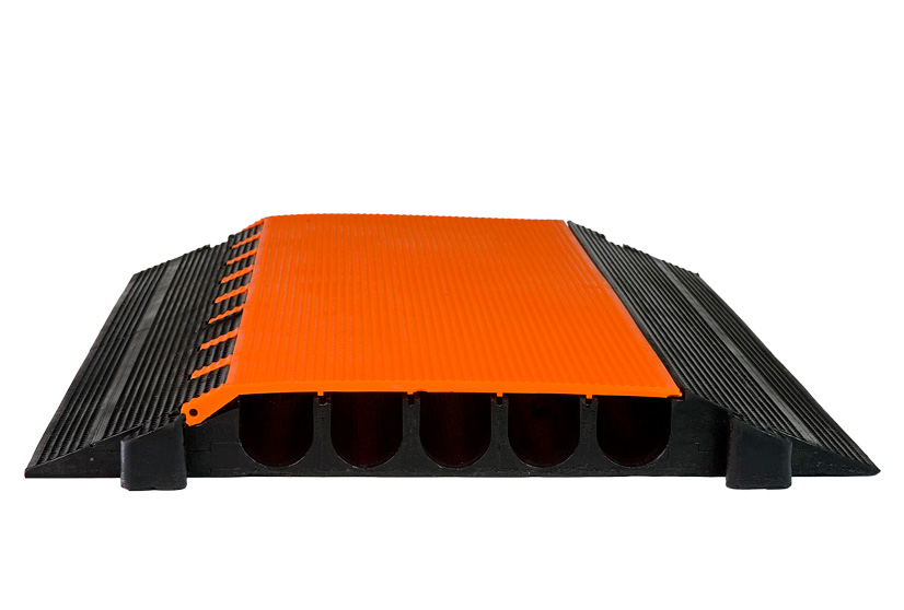 elasco guards eg 5200 36 5 channel 2 inch heavy duty cable guard. Black Bedroom Furniture Sets. Home Design Ideas