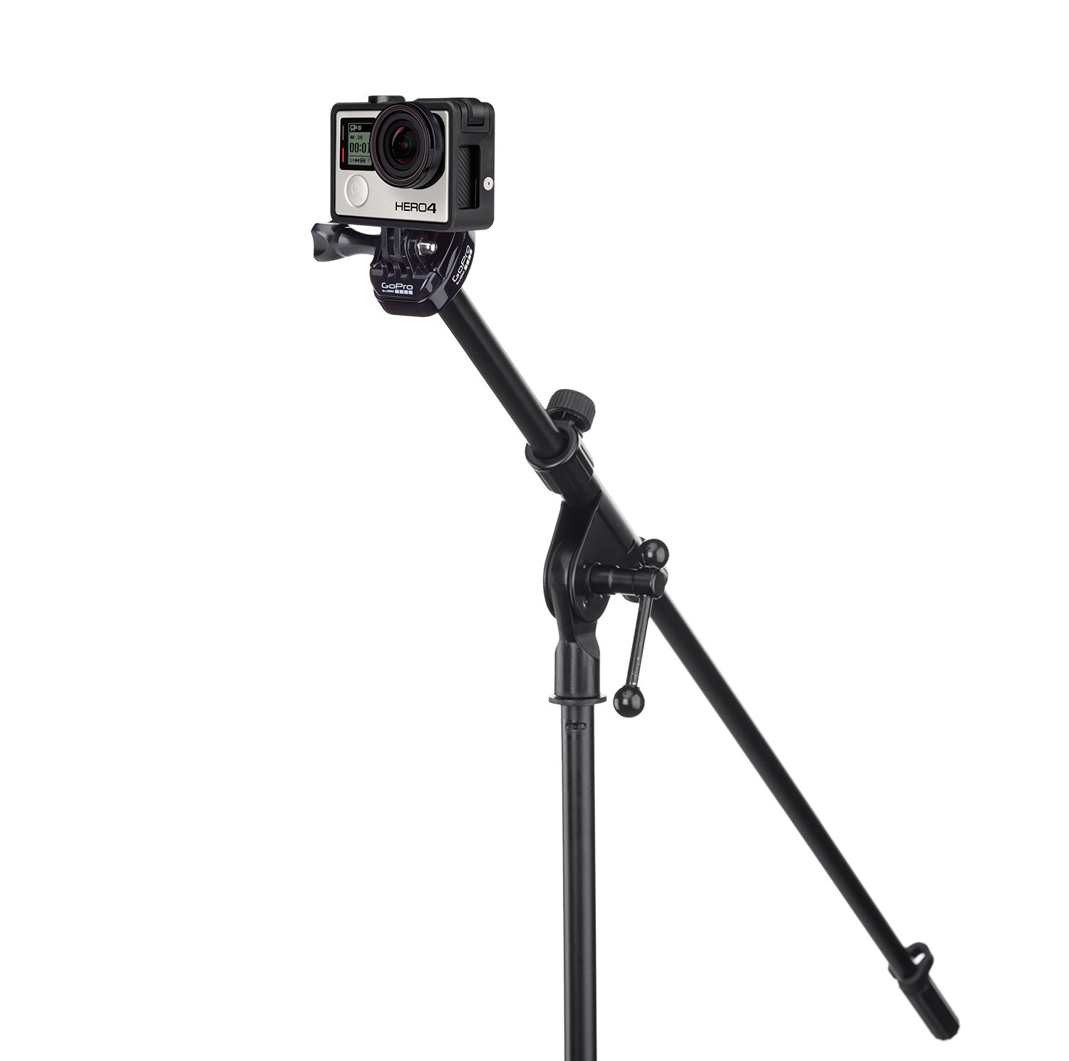 Gopro Mic Stand Mount Suction Cup And Quick Release Aucmt 302
