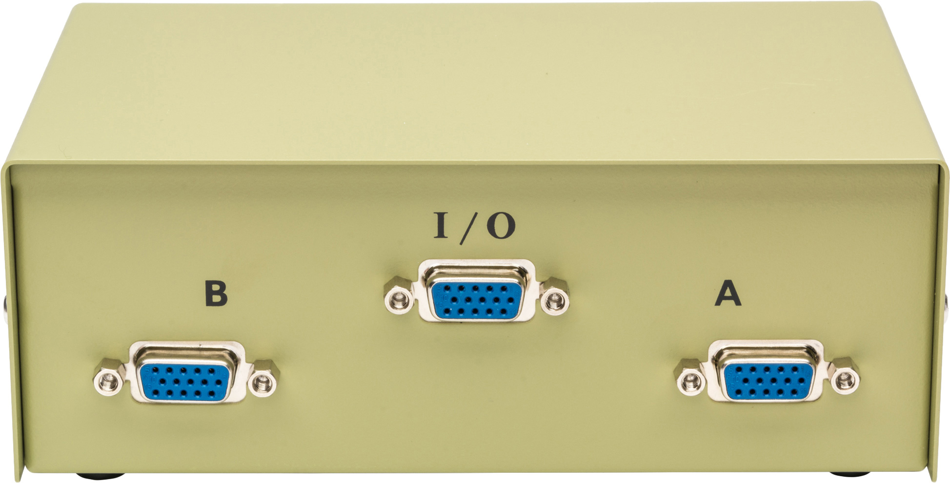 High Density 15 Pin Ab Vga 1x2 Switchbox 2 Way Switch Box Zoom
