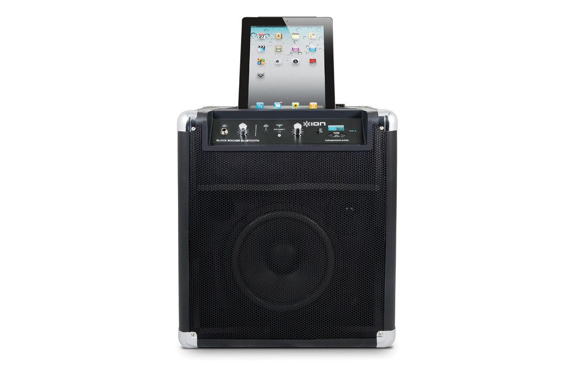 Ion Audio Block Rocker Bluetooth Portable Speaker System W