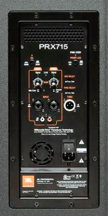 Jbl Prx715 15 Inch Two Way Full Range Main System Floor