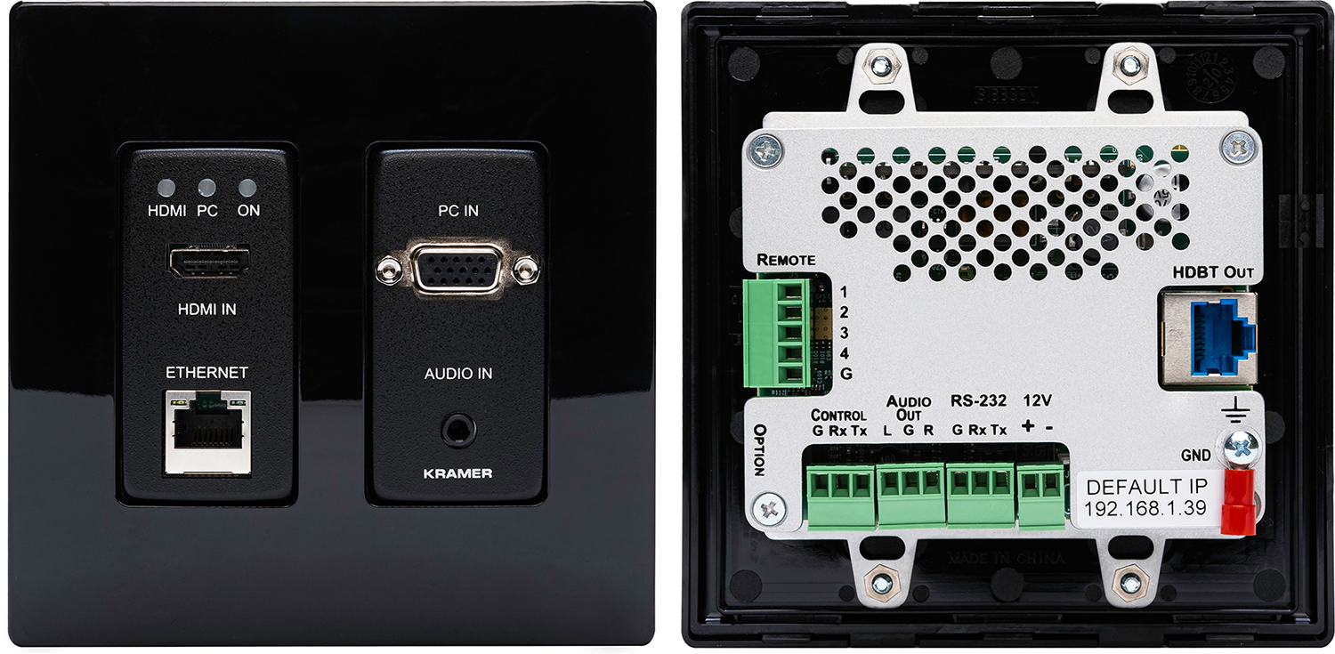 Kramer Wp-20 Active Wall Plate