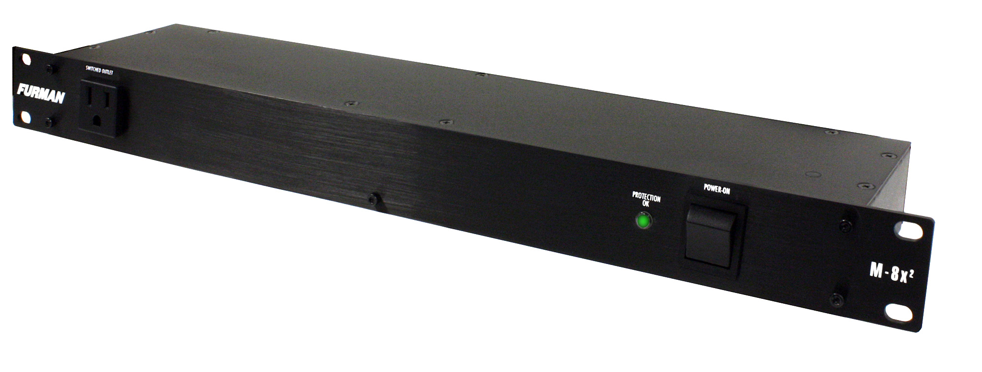Furman M-8X2 15A Rackmount Power Conditioner w/8 Rear Switched Outlets