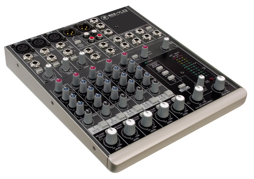 Mackie 802 VLZ3 8 Channel Mic Line Compact Mixer