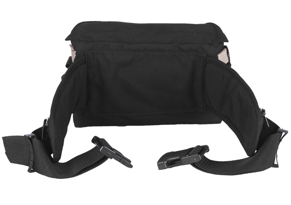 d8763244e2ea Portabrace HIP-2AUD Hip Pack for Carrying and Protecting Audio Recorders -  Black - Medium