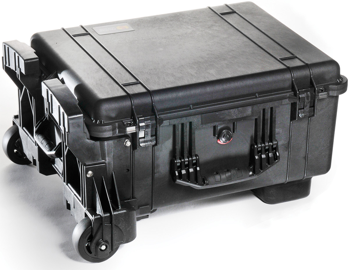 Pelican 1610m Case With Wheels And Foam Mobility Version
