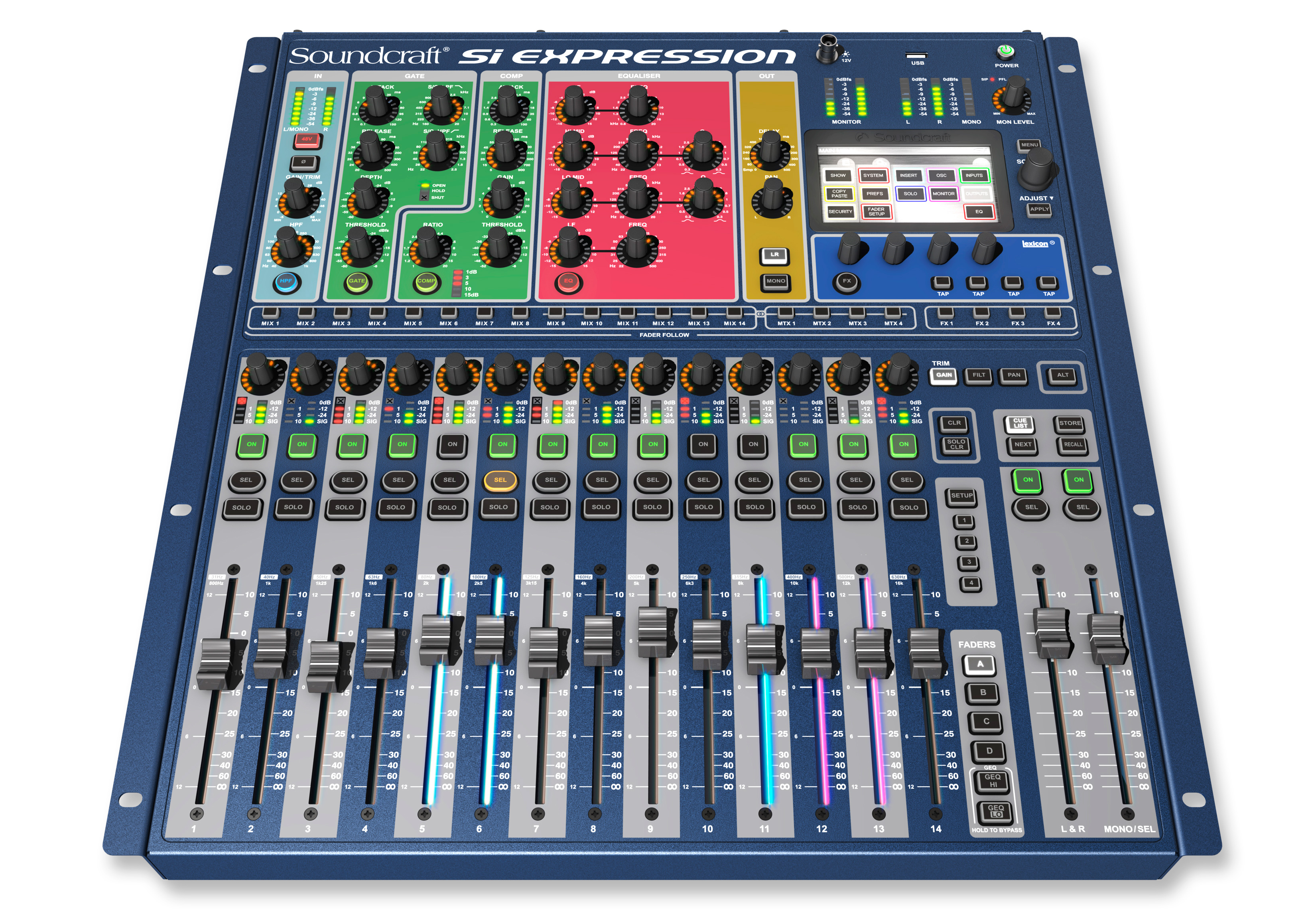 soundcraft si expression 1 16 channel digital mixer. Black Bedroom Furniture Sets. Home Design Ideas