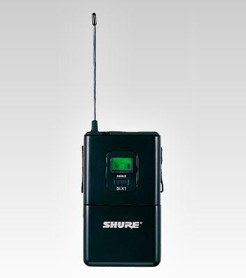shure slx14 150 o g4 wireless lavalier microphone system. Black Bedroom Furniture Sets. Home Design Ideas
