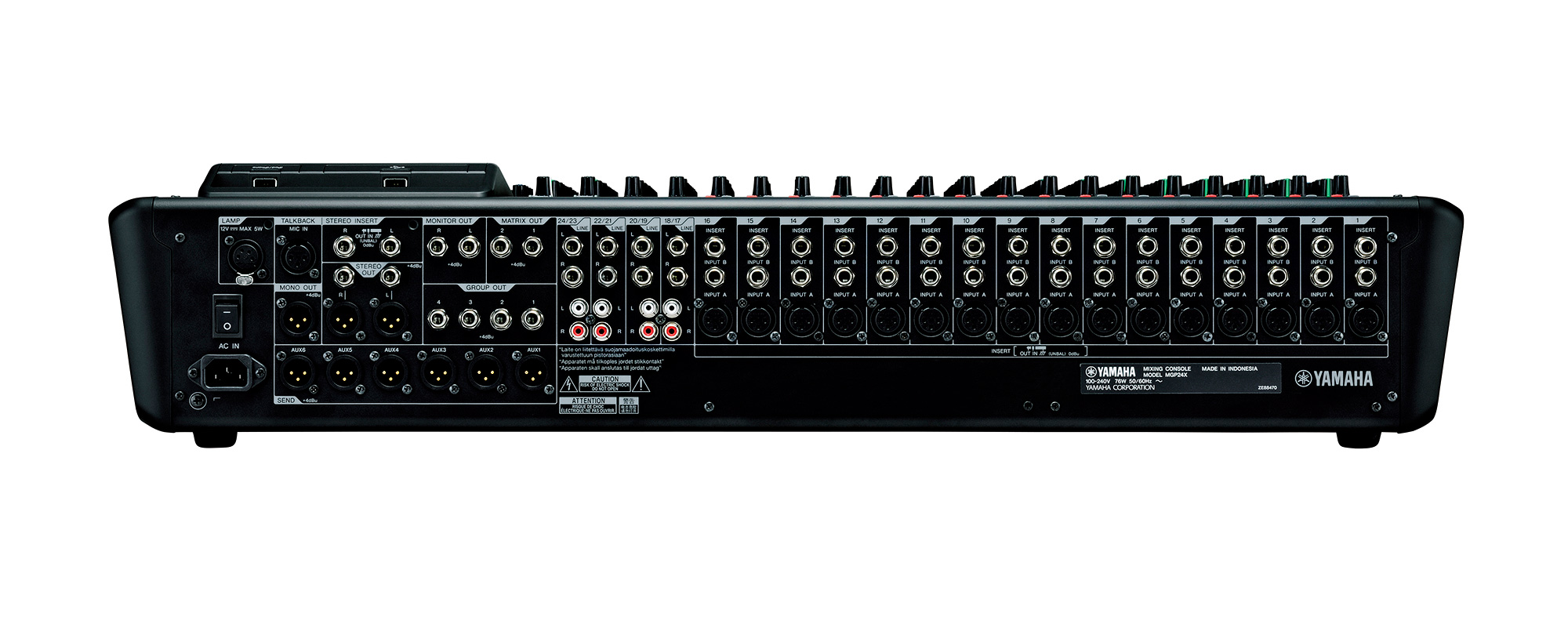yamaha mgp24x 24 channel premium mixing console. Black Bedroom Furniture Sets. Home Design Ideas