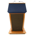 SS3045MH - Patriot Plus Lectern with Sound - Mahogany