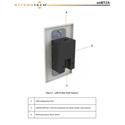 Attero Tech UNBT2A 2 Channel 1 Gang US Wall Plate with BlueTooth In/Analog Out