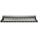AVP AR-B248E1-L-HN-E03 2x48 Bantam TT Half Normal Patchbay with EDAC 3-Pin - 1RU