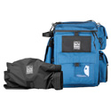 PortaBrace BK-1NQS-M3 Backpack Camera Case Blue