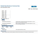 Belden 1505F RG59/21 SDI Coaxial Cable Ft
