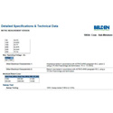 Belden 1865A RG59/25 Analog and Digital Coaxial 1000 Foot
