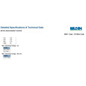 Belden 8241 Unreeled Box RG59/23 Analog Coaxial 1000ft