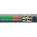 Blackmagic BMD-HDL-AUDMON1RU12G Audio Monitor 12G Rack Mount Audio Monitoring From SDI AES/EBU & Analog Audio Sources