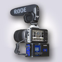 BeachTek DXA-POCKET Two-channel Compact Audio Adapter for Camcorders & DSLR Cameras