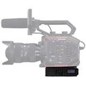 Core SWX PowerBase EDG Small Form Cine V-Mount Li-Ion Batt Pack 49wh 14.8v Includes PB70C15 Charger/Panasonic Batt Cable