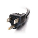 12ft 18 AWG Universal Right Angle Power Cord NEMA 5-15P to IEC320C13R
