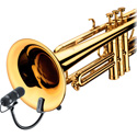 DPA VO4099T d:vote4099 Instrument Mic Kit Supercardioid Trumpet