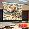Draper 116015 Targa 100 Inch NTSC Matt White XT1000E 110 V Screen