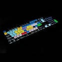 Editors Keys EKAMCBL002 PC Backlit Dedicated Keyboard for Avid Media Composer